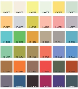 Colour pallette photo