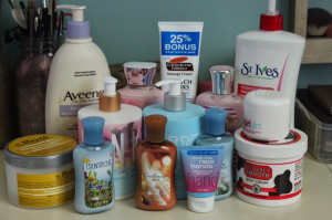 body lotion photo