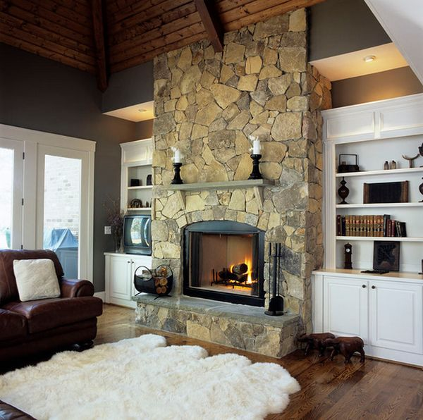 Stone Fire Place Ideas: Fireplace Design Ideas For This Winter