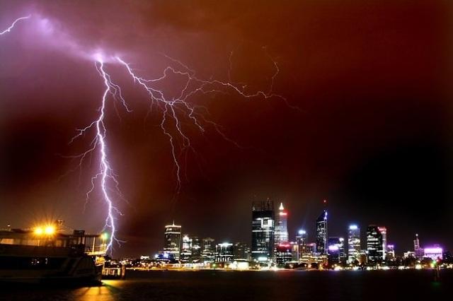 storm perth skyline