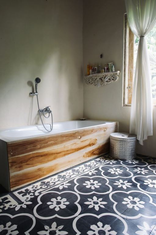Why Not Decorate Your Entire Bathroom To Reflect Your Creativity And Sense  Of Adventure? By Keeping The Colours Light You Can Make The Space Appear  Bigger ...