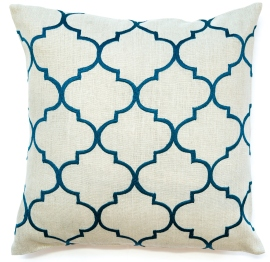 Bocce Teal Cushion